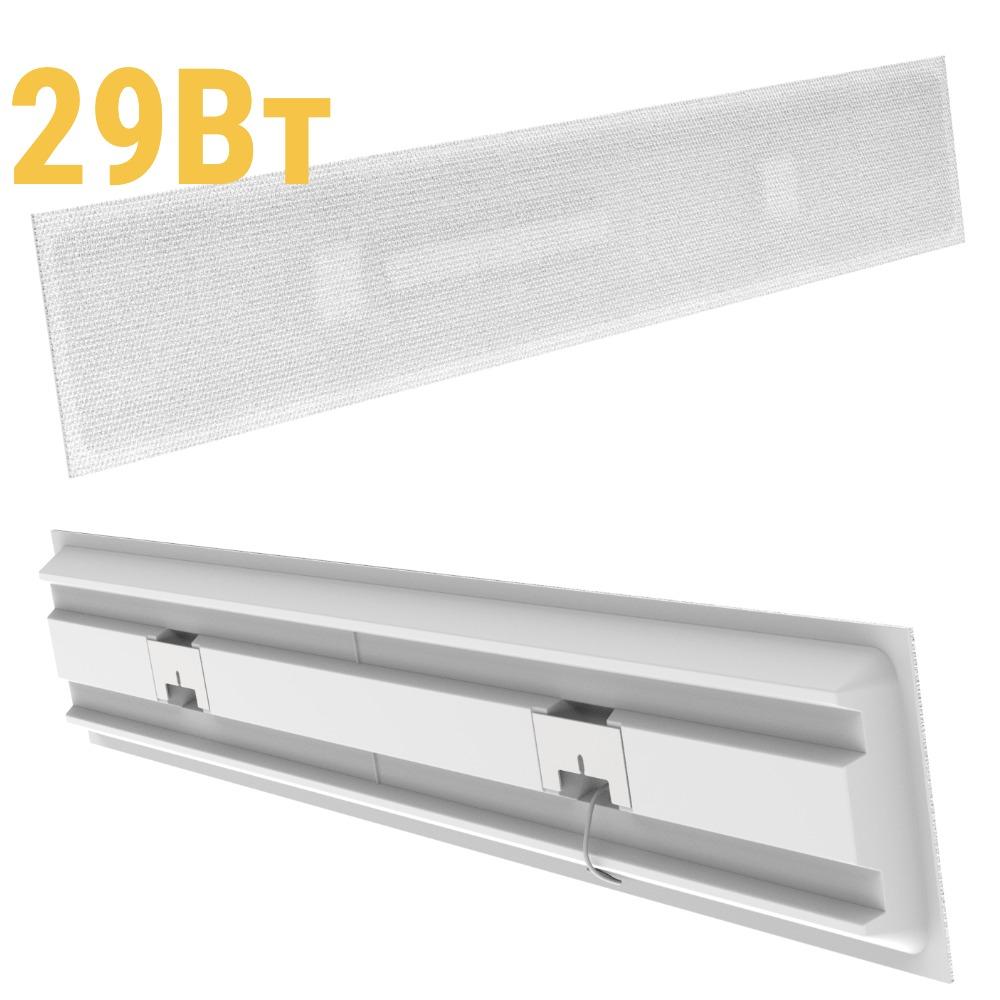 Светодиодный светильник LenSvet LSS-PR-U-028-29-3200-5000-54, 29Вт