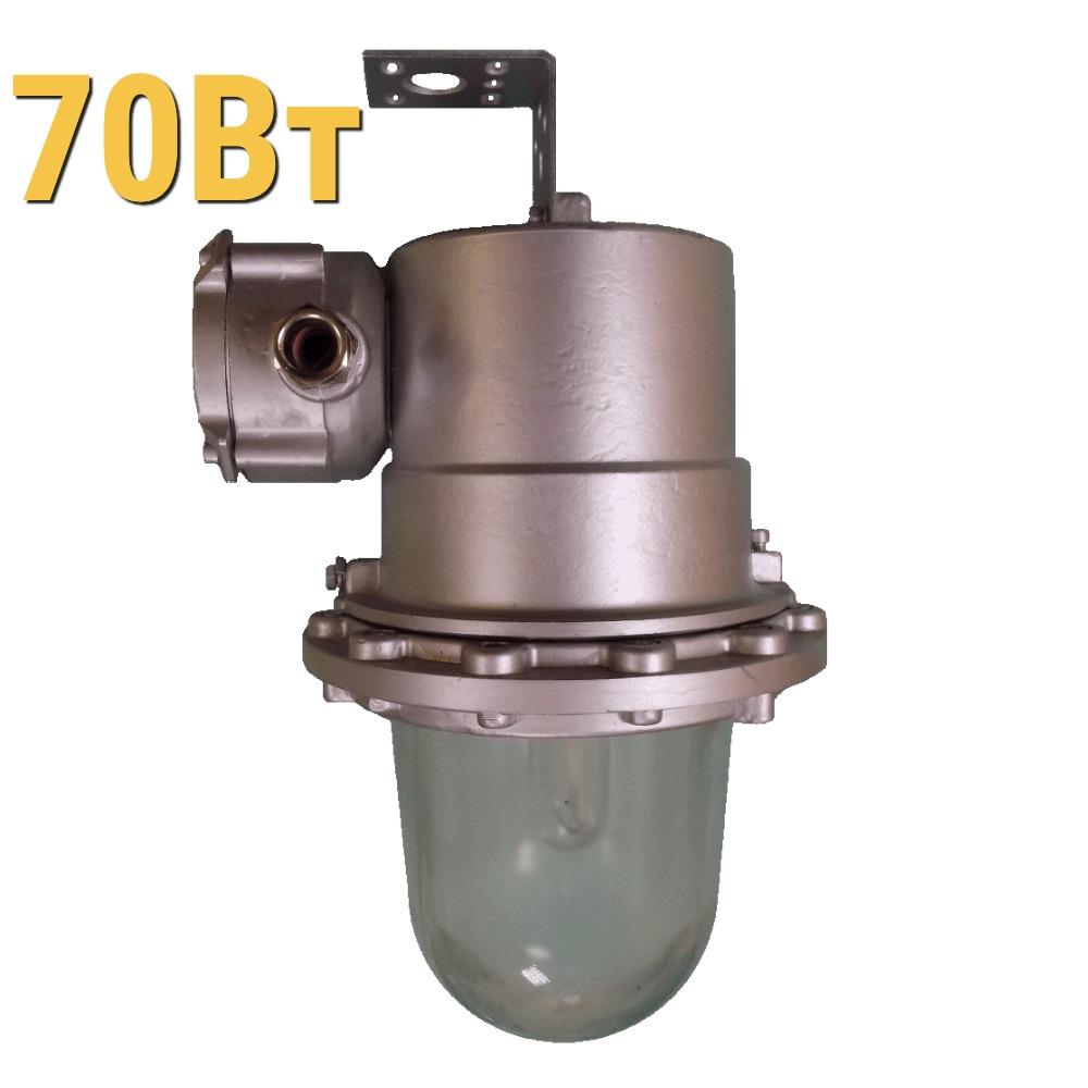 Взрывозащищенный светильник ЖСП УХЛ1 LenSvet LGR-PR-U-035-1EX-70-65, 70Вт