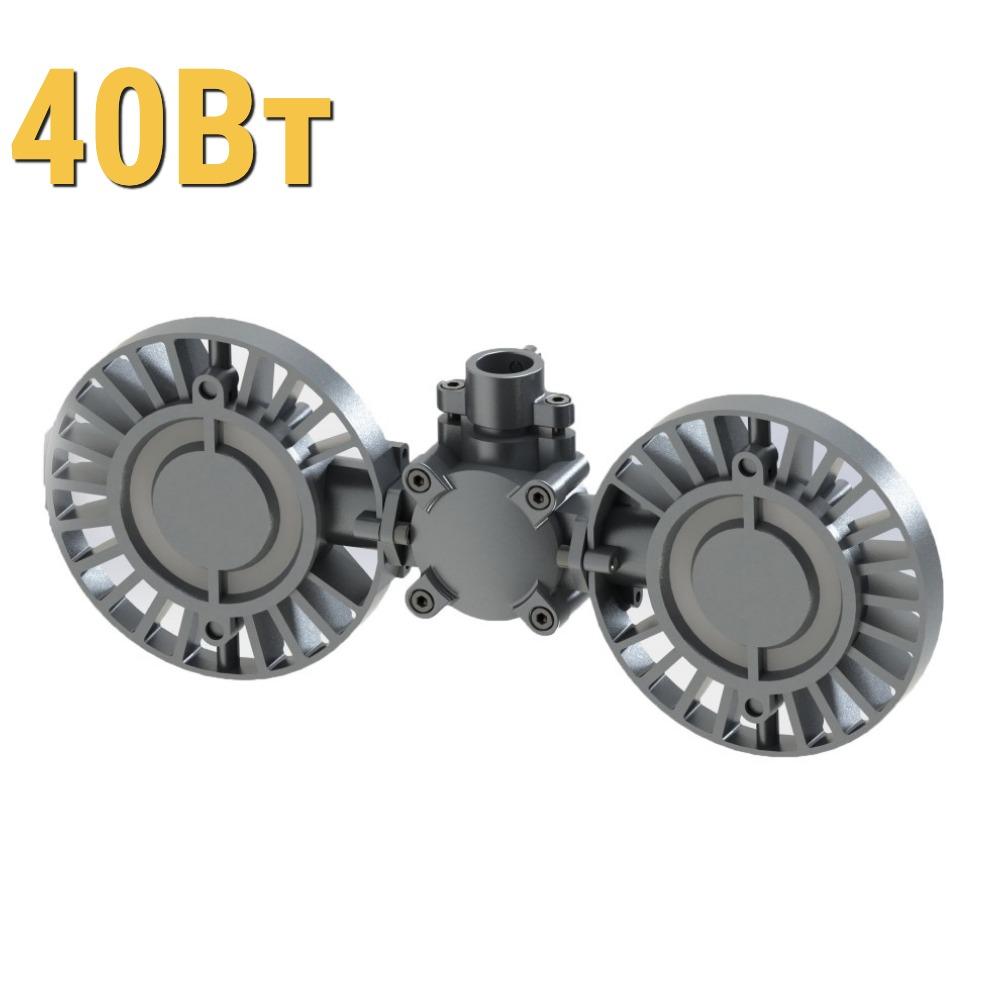 Взрывозащищенный светодиодный светильник ДСП УХЛ1 LenSvet LSS-PR-P90-035-1EX-40-4000-5000-65, 40Вт