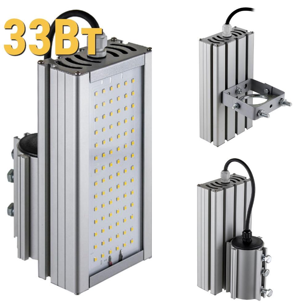 Уличный светодиодный светильник LenSvet LSS-ST-KU-018-33-4320-4000-67, 33Вт