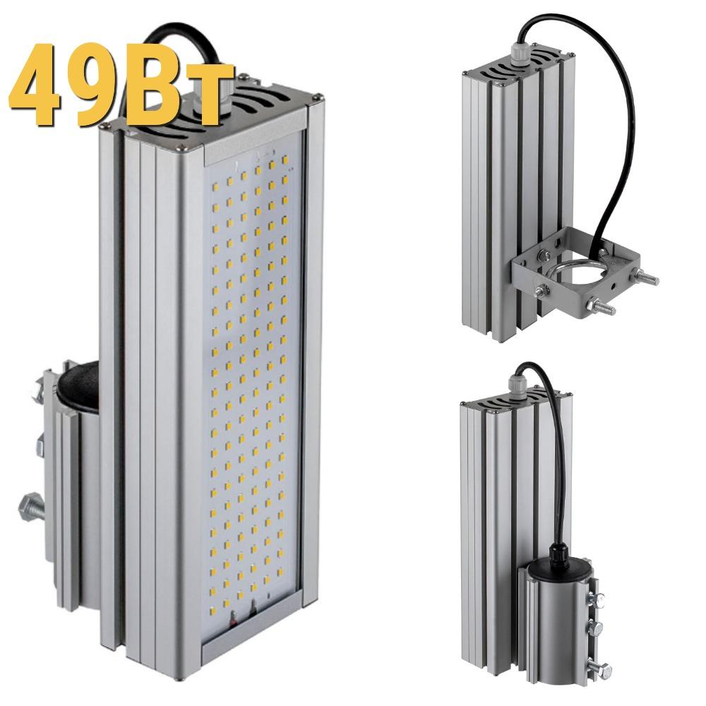 Уличный светодиодный светильник LenSvet LSS-ST-KU-018-49-6480-4000-67, 49Вт