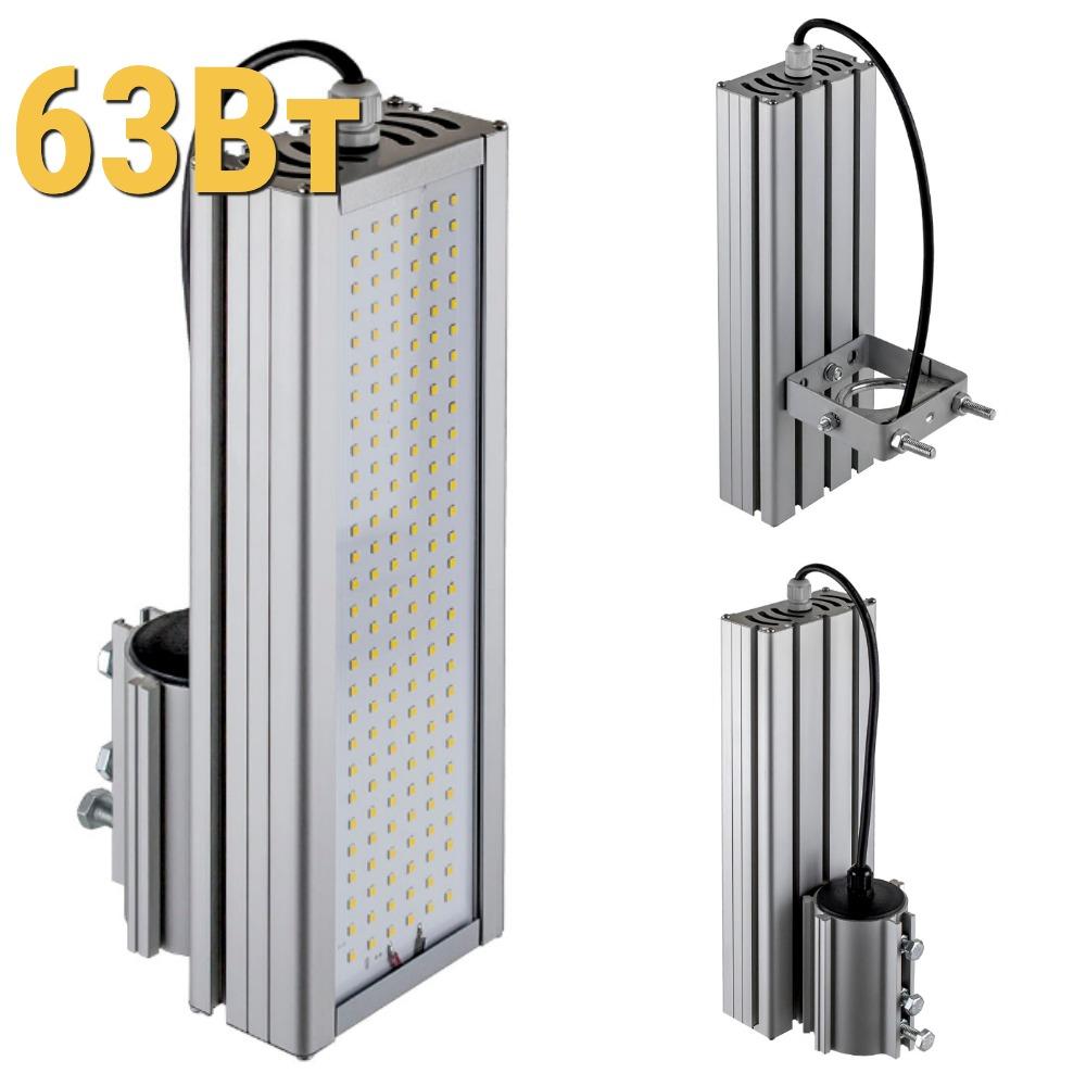 Уличный светодиодный светильник LenSvet LSS-ST-KU-018-63-8370-4000-67, 63Вт