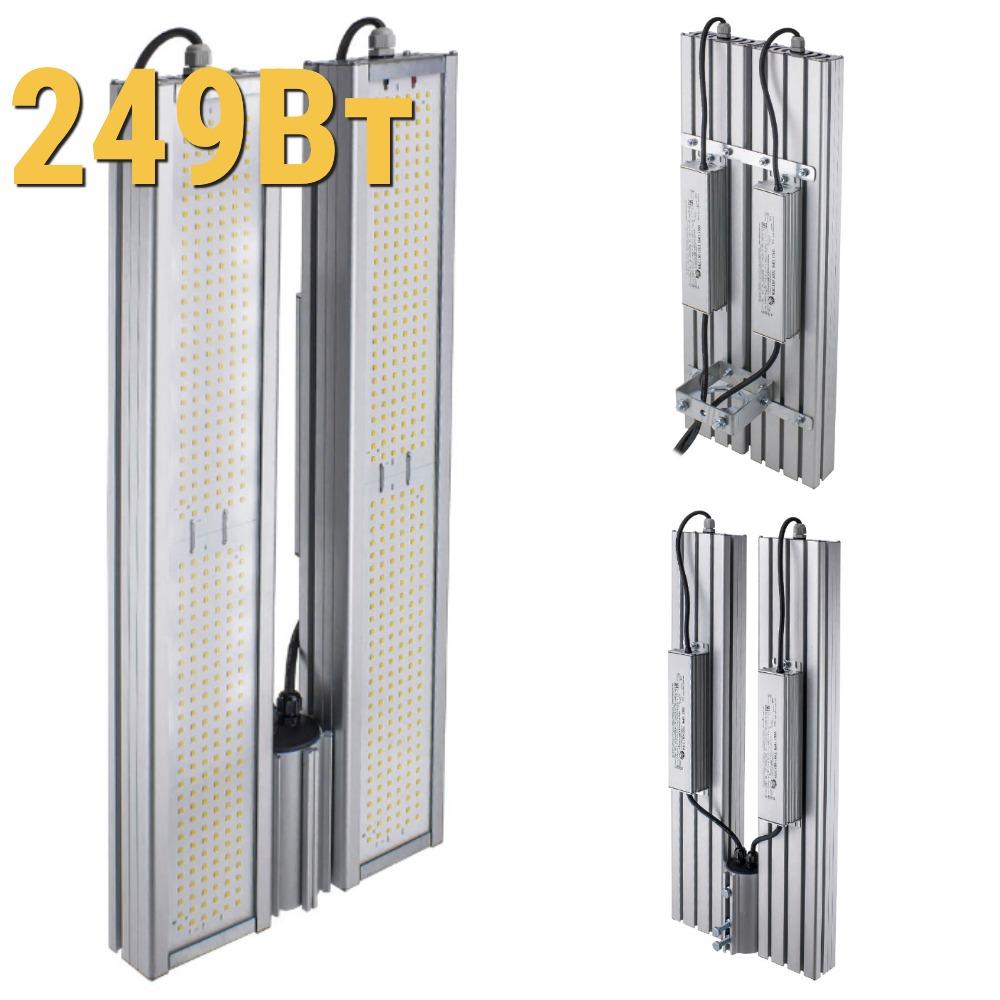 Промышленный светодиодный светильник LenSvet LSS-PR-KU-018-249-33480-4000-67, 249Вт