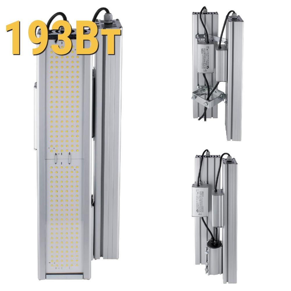 Промышленные светодиодный светильник LenSvet LSS-PR-KU90-018-193-25920-4000-67, 193Вт
