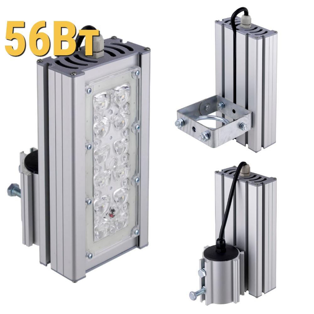 Уличный светодиодный светильник LenSvet LSS-ST-KU-018-56-7425-4000-67, 56Вт