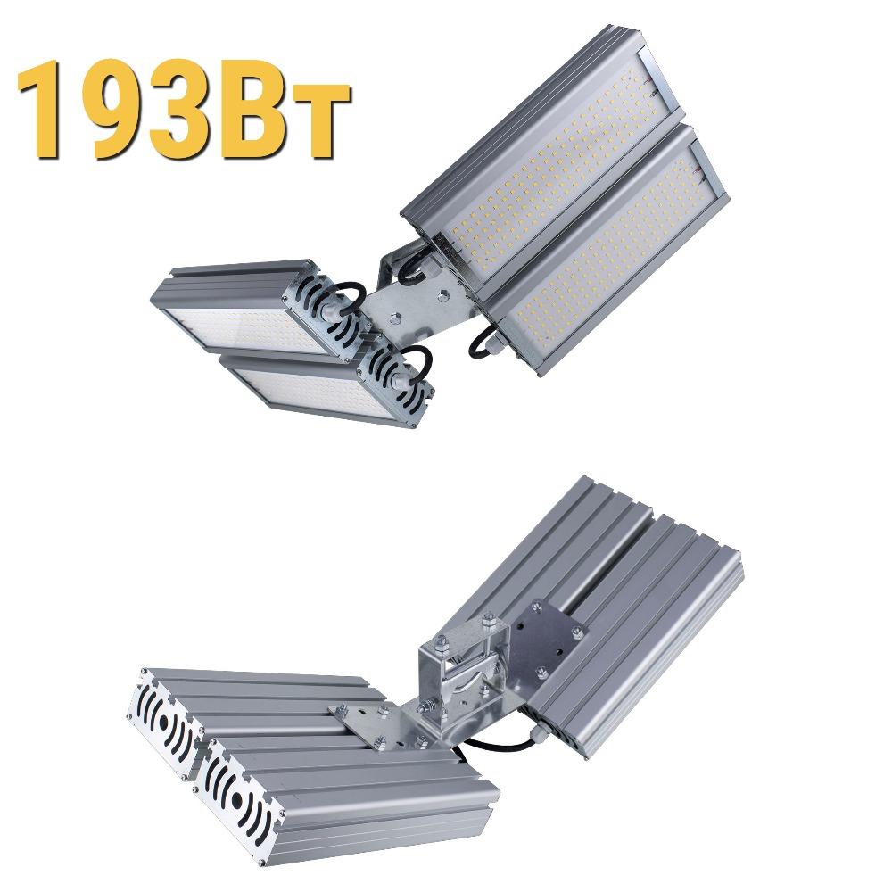 Уличный светодиодный светильник LenSvet LSS-ST-UV2-018-193-25920-4000-67, 193Вт