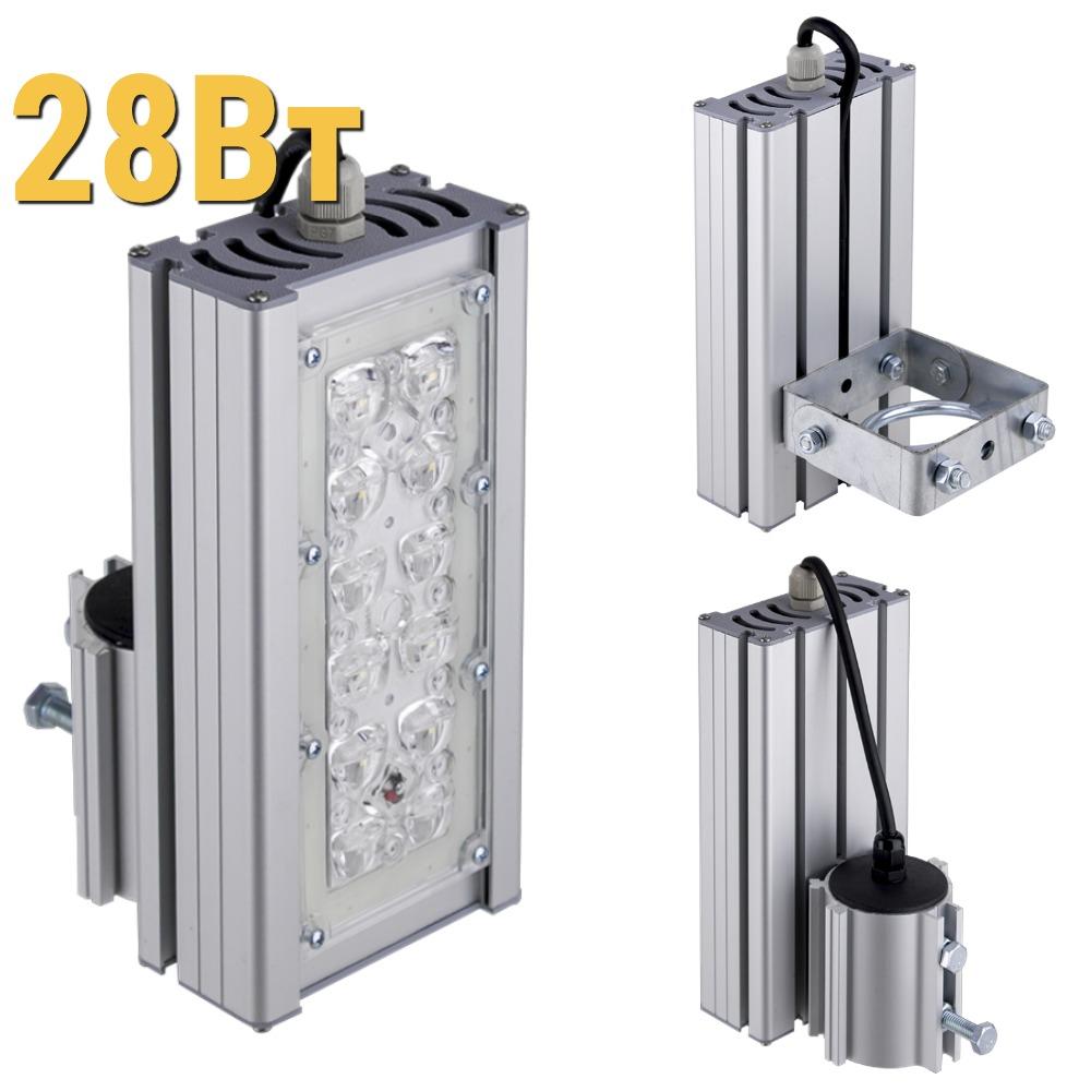 Уличный светодиодный светильник LenSvet LSS-ST-KU-018-28-4200-5000-67, 28Вт