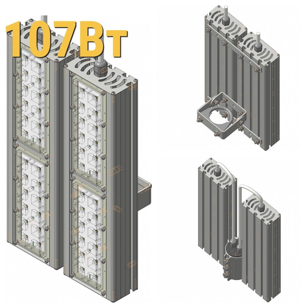 Светодиодный прожектор LenSvet LSS-ST-KU-018-107-16050-5000-67, 107Вт