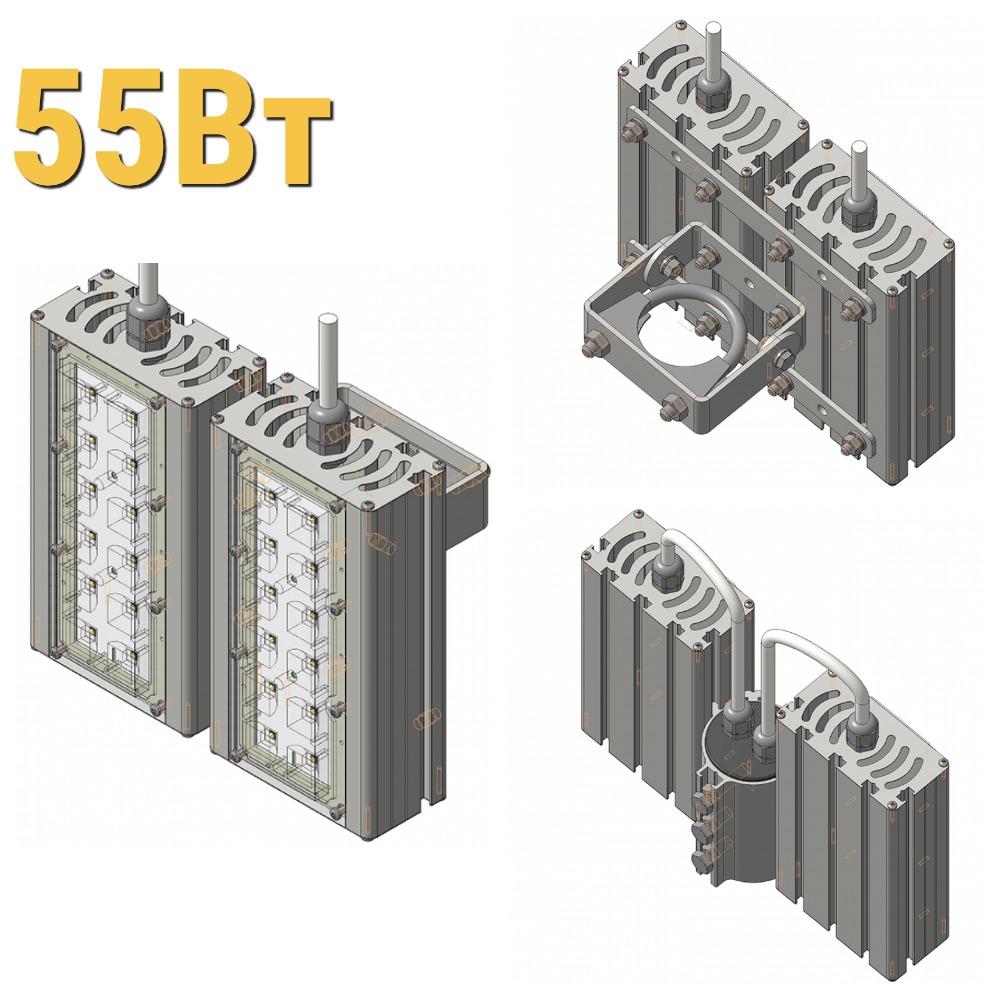 Светодиодный прожектор LenSvet LSS-ST-KU-018-55-8250-5000-67, 97Вт