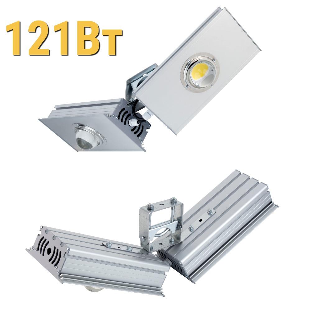 Светодиодный прожектор КОБ LenSvet LSS-ST-UV-018-121-21175-5000-67, 121Вт