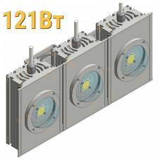 Светодиодный прожектор КОБ LenSvet LSS-ST-U-018-121-21175-5000-67, 121Вт
