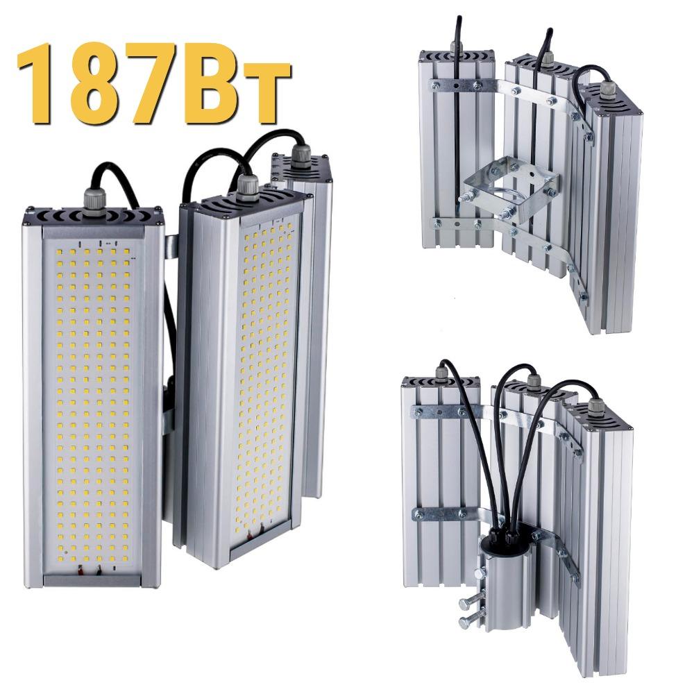 Уличный светодиодный светильник LenSvet LSS-ST-KU90-018-187-25110-4000-67, 187Вт