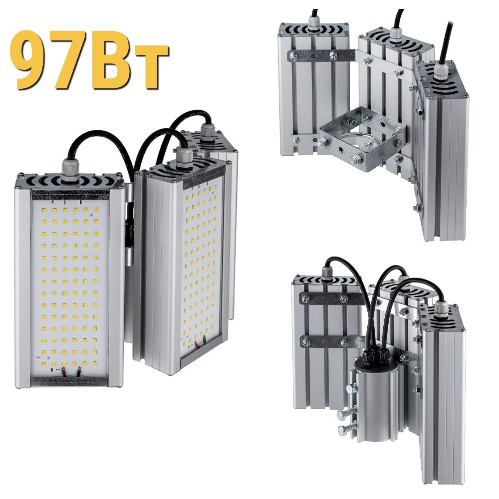 Уличный светодиодный светильник LenSvet LSS-ST-KU90-018-97-12961-4000-67, 97Вт