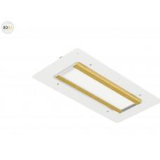 Светодиодный светильник Модуль GOLD, для АЗС, 80 Вт, 120°