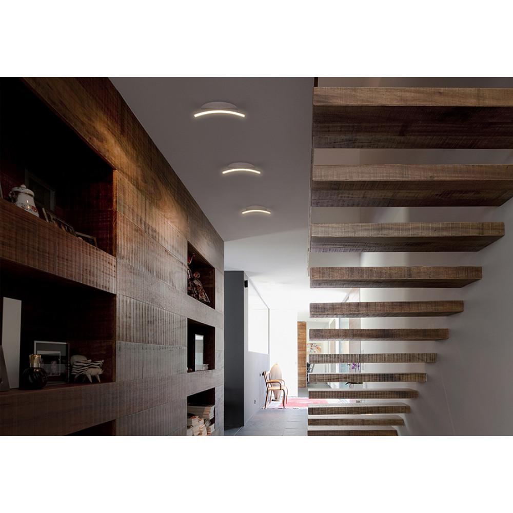 TVAR1-20-01. Встраиваемый потолочный светильник Арко. Дуга 20 см