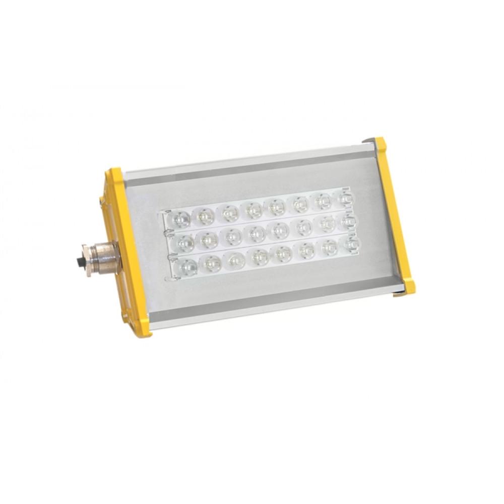 Светодиодный взрывозащищенный прожектор  LSS-PR-U-035-EX-55-7176-5000-10-66, 55Вт