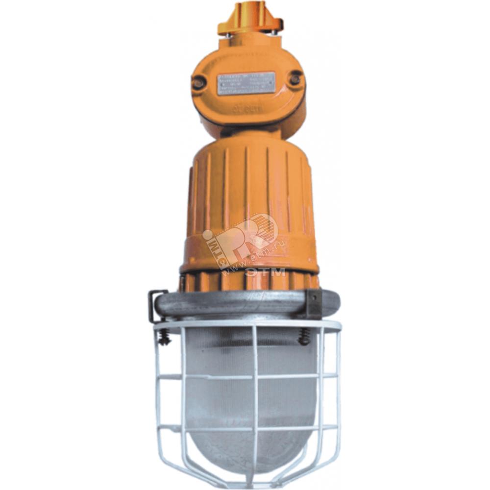 Светильник ЖСП-18ВЕх-100-312 с решеткой взрывозащищенный