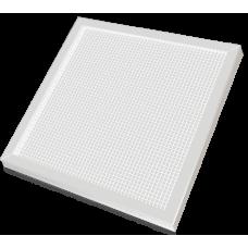 Светильник светодиодный офисный стальной, рассеиватель колотый лед 36Вт 2990Лм