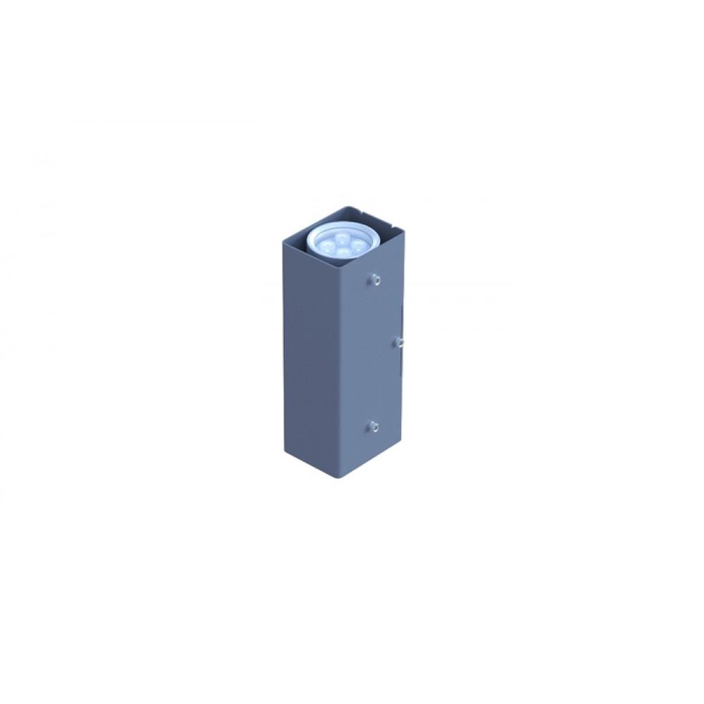 Светильник двухсторонний лучевой D65 2*9W 12V IP65 10,25,45,60° на светодиодах CREE (США) RGB DMX