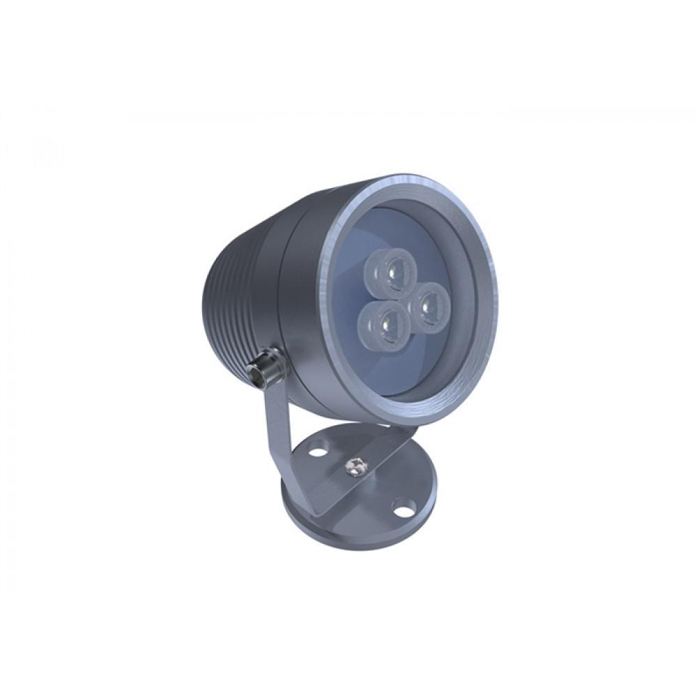 Архитектурный светильник лучевой D65 9W 12V IP65 10,25,45,60° на светодиодах CREE (США) RGB DMX