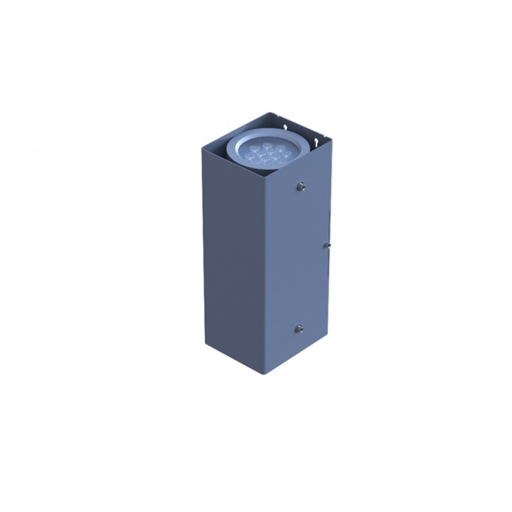 Светильник двухсторонний заливной D100 2*18W 24V IP65 на светодиодах CREE (США) RGB DMX