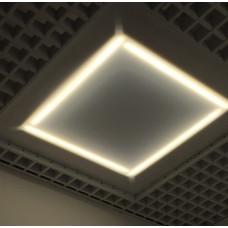 """Светодиодный светильник """"Офис Грильято"""", 28 Вт"""
