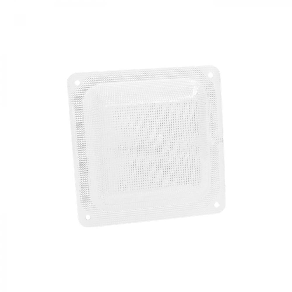 """Светодиодный светильник """"ЖКХ квадрат микропризма"""", 8 Вт с акустическим датчиком"""