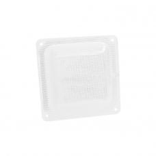 """Светодиодный светильник """"ЖКХ квадрат микропризма"""", с акустическим датчиком, 11 Вт"""